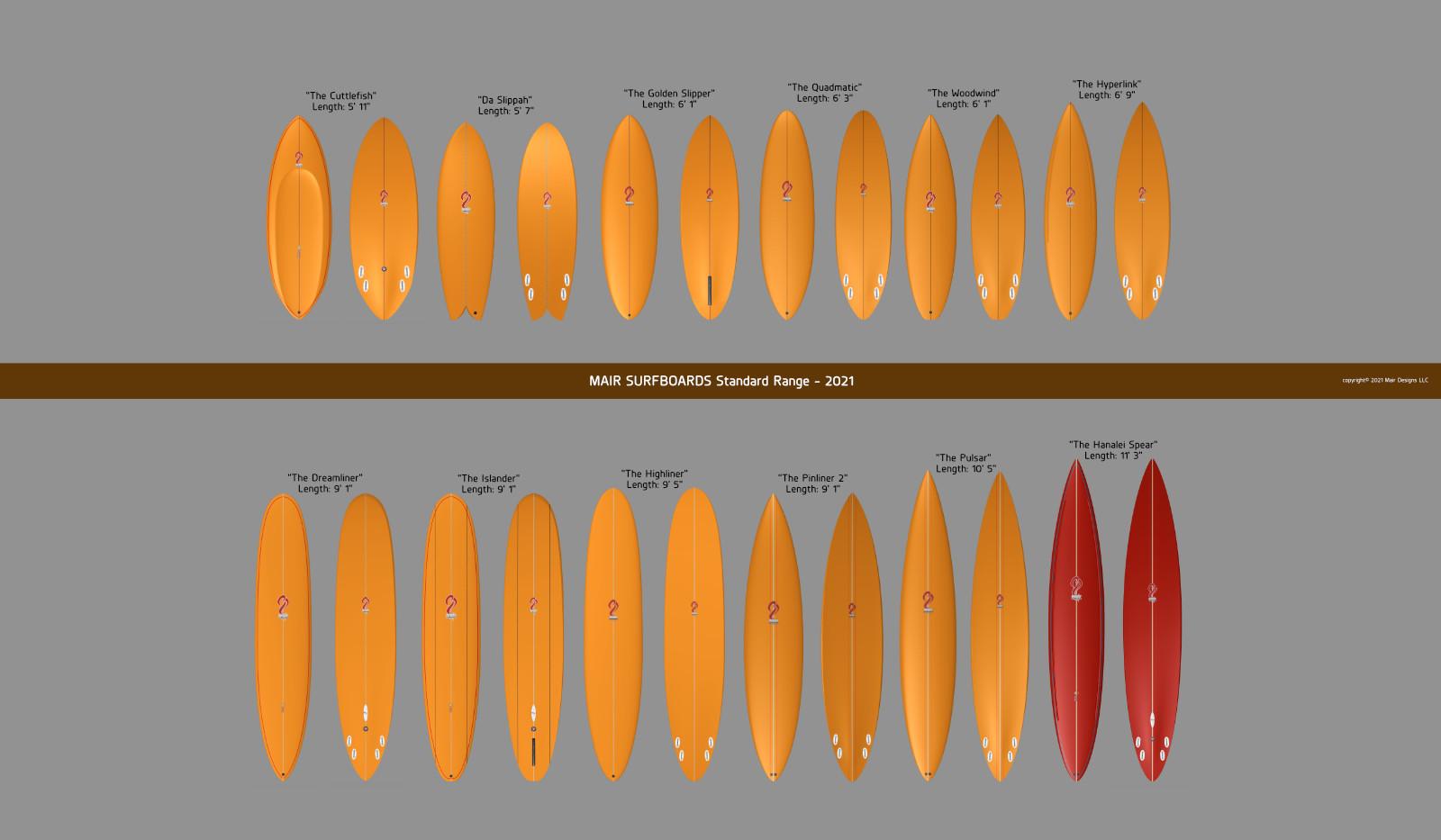 SURFBOARD Range
